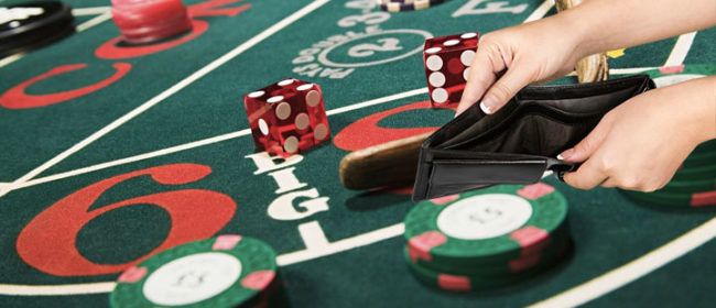 Bankroll required to play in a casino
