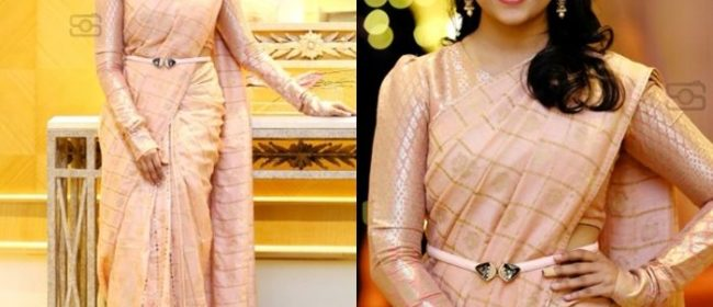 Saree Drapes to ace the Party look