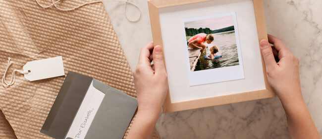 Gifting Love in A Custom Frame