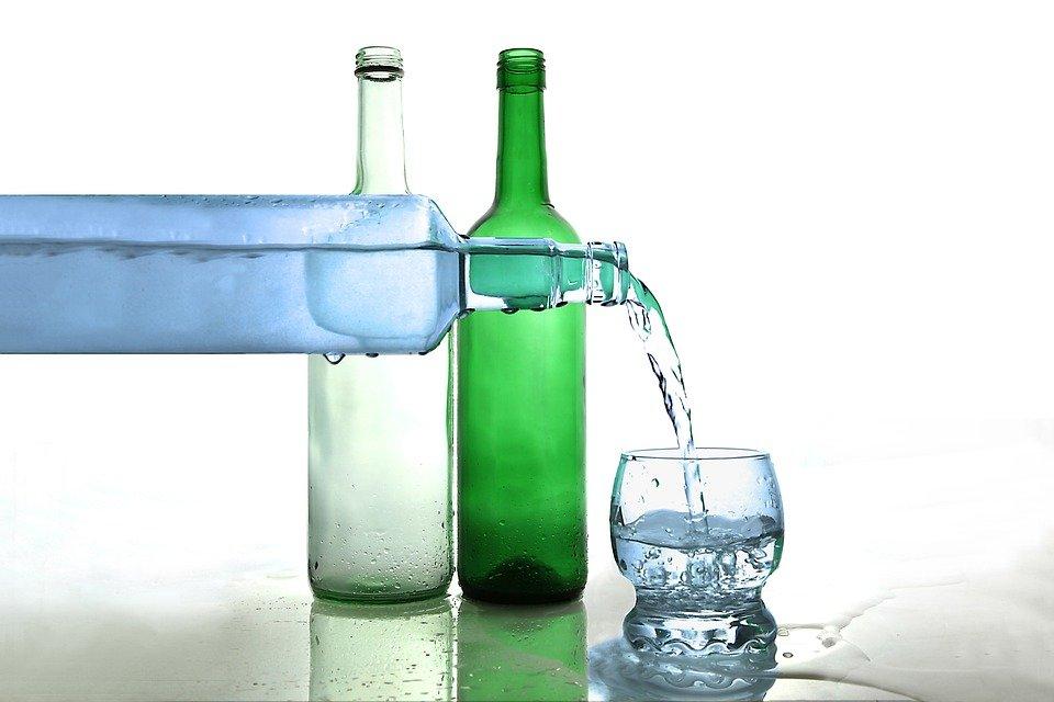 Water, Water Bottle, Bottle Of Water